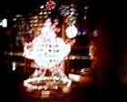 12月のクリスマスの最中の新宿高島屋